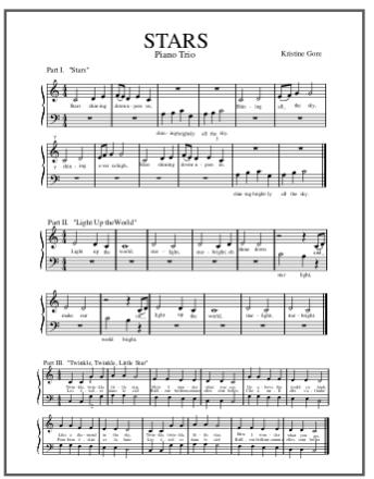 STARS Piano Trio